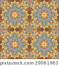 Seamless oriental ornamental pattern. Vector 29061963