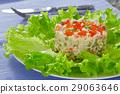 salad, vegetable, wooden 29063646