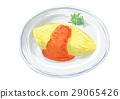煎蛋飯 29065426