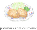 croquette, deep, fried 29065442