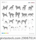 動物 シルエット  29067014