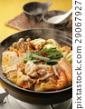 kimchi pot, food cooked in a pot, cooking in a pot 29067927