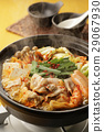 kimchi pot, food cooked in a pot, cooking in a pot 29067930