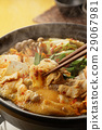 泡菜火锅 锅里煮好的食物 用锅烹饪 29067981