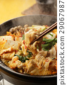 kimchi pot, food cooked in a pot, cooking in a pot 29067987