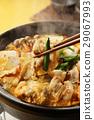 泡菜火鍋 鍋裡煮好的食物 用鍋烹飪 29067993