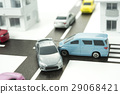 주택가에서 교통 사고 이미지 29068421