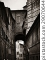 Siena street archway 29070644