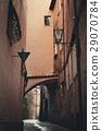 Siena street archway 29070784