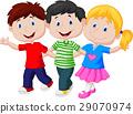 Happy young children 29070974