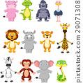 Wild animal cartoon 29071308