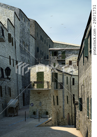 Tuscany old town detail. 29071731