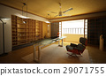 Office interior. Modern oriental stylish. 29071755