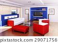 Living room modern style. 29071756