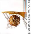 球 籃子 籃球 29072348