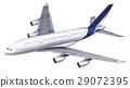 A 380 passenger aircraft. 29072395