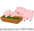 動物 卡通 家庭 29072684