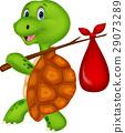 turtle cartoon character 29073289