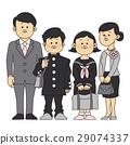 入学典礼 初中生 中学生 29074337