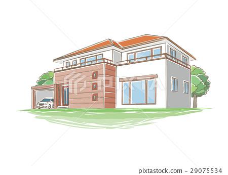 房屋 房子 住宅的 29075534