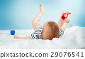baby, white, blanket 29076541