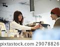 guest, salesperson, shop assistant 29078826