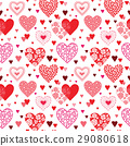 hearts seamless background 29080618