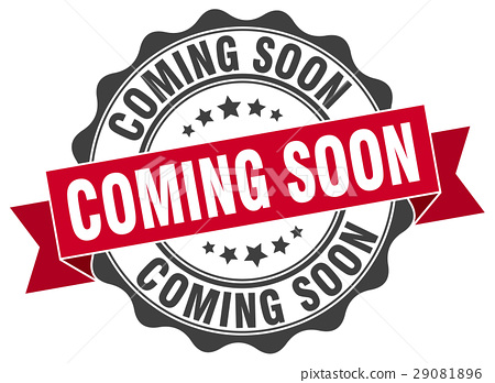 coming soon stamp. sign. seal 29081896