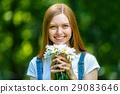 female, woman, flower 29083646