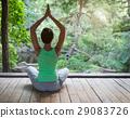 yoga asana young 29083726