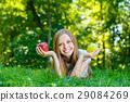female, smile, woman 29084269
