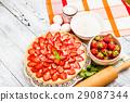 Homemade Strawberry cake 29087344