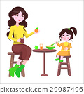 mother daughter table 29087496
