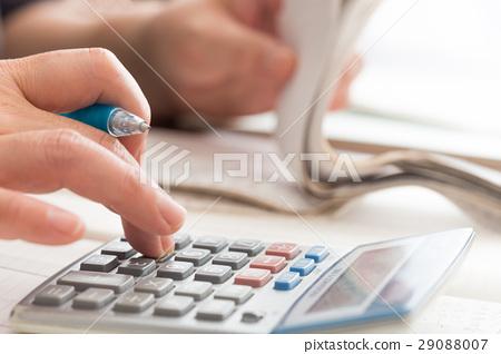 家庭賬簿(收據和計算器) 29088007