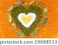 bean, grain, heart 29088533
