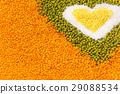 bean, grain, heart 29088534