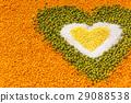 bean, grain, heart 29088538