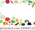 蔬菜 框架 幀 29089510