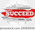 succeed, word, vector 29089846