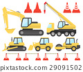 construction machinery, digger, excavator 29091502