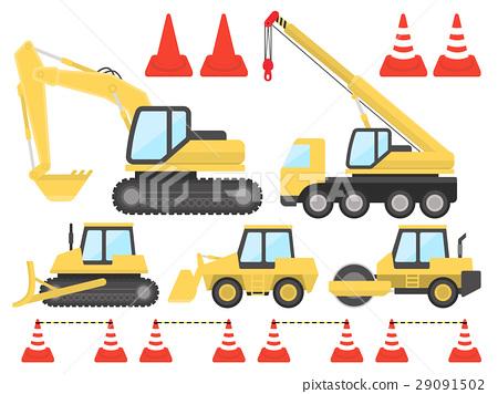 例證套建築機器 29091502