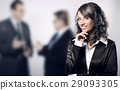 Portrait of an ambitious employee 29093305