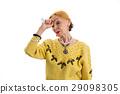 old, woman, medicine 29098305