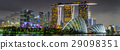 Singapore Skyline and view of Marina Bay 29098351