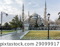 blue, mosque, istanbul 29099917