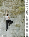sport climbing in nature 29106841