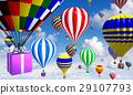 airship, balloon, balloons 29107793