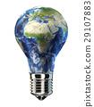 abstract, bulb, earth 29107883