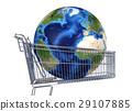 cart, earth, global 29107885