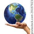 background, earth, globe 29107923